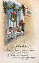 xms002031 - Christmas Postcard Antique Xmas Post Card