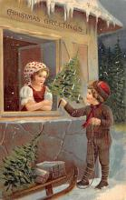 xms002061 - Christmas Postcard Antique Xmas Post Card