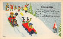 xms002067 - Christmas Postcard Antique Xmas Post Card