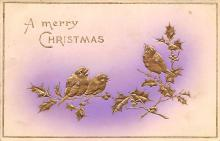 xms002091 - Christmas Postcard Antique Xmas Post Card