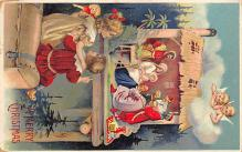 xms002093 - Christmas Postcard Antique Xmas Post Card