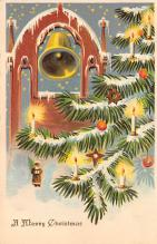xms002107 - Christmas Postcard Antique Xmas Post Card