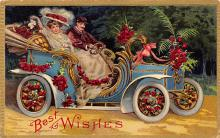 xms002117 - Christmas Postcard Antique Xmas Post Card