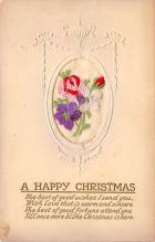 xms002135 - Christmas Postcard Antique Xmas Post Card
