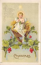 xms002161 - Christmas Postcard Antique Xmas Post Card