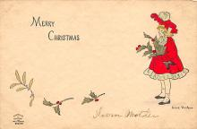 xms002171 - Christmas Postcard Antique Xmas Post Card