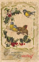 xms002185 - Christmas Postcard Antique Xmas Post Card