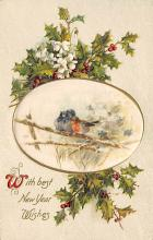 xms002195 - Christmas Postcard Antique Xmas Post Card