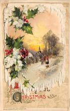 xms002199 - Christmas Postcard Antique Xmas Post Card