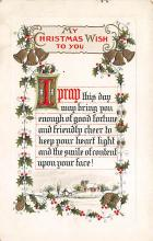 xms002207 - Christmas Postcard Antique Xmas Post Card