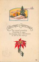 xms002221 - Christmas Postcard Antique Xmas Post Card