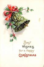 xms002237 - Christmas Postcard Antique Xmas Post Card