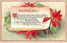 xms002259 - Christmas Postcard Antique Xmas Post Card