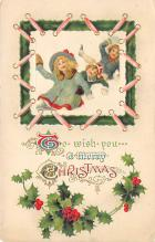 xms002261 - Christmas Postcard Antique Xmas Post Card