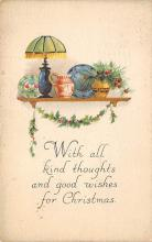 xms002275 - Christmas Postcard Antique Xmas Post Card