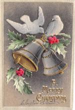 xms002289 - Christmas Postcard Antique Xmas Post Card