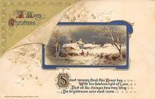 xms002309 - Christmas Postcard Antique Xmas Post Card