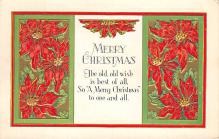xms002315 - Christmas Postcard Antique Xmas Post Card