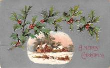xms002323 - Christmas Postcard Antique Xmas Post Card