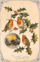 xms002327 - Christmas Postcard Antique Xmas Post Card