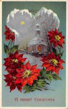 xms002331 - Christmas Postcard Antique Xmas Post Card