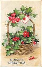 xms002333 - Christmas Postcard Antique Xmas Post Card