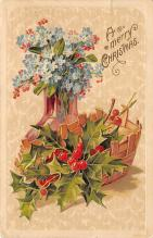 xms002405 - Christmas Postcard Antique Xmas Post Card