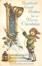 xms002565 - Christmas Post Card Antique Xmas Postcard