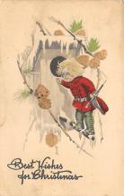 xms002603 - Christmas Post Card Antique Xmas Postcard