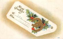 xms002613 - Christmas Post Card Antique Xmas Postcard
