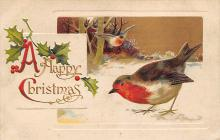 xms002631 - Christmas Post Card Antique Xmas Postcard