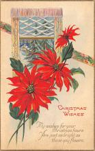 xms002655 - Christmas Post Card Antique Xmas Postcard