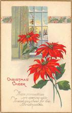 xms002657 - Christmas Post Card Antique Xmas Postcard