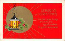 xms002677 - Christmas Post Card Antique Xmas Postcard