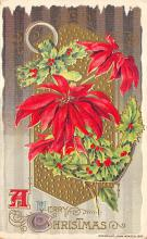 xms002707 - Christmas Post Card Antique Xmas Postcard
