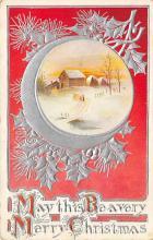 xms002813 - Christmas Day Postcard