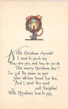 xms002819 - Christmas Day Postcard