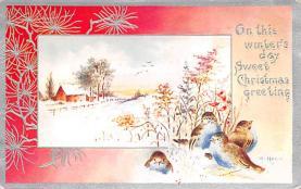 xms002847 - Christmas Day Postcard