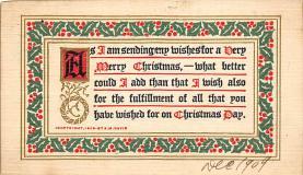 xms002869 - Christmas Day Postcard