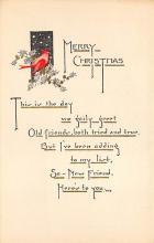 xms002883 - Christmas Day Postcard