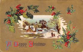 xms002959 - Christmas Day Postcard
