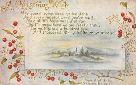 xms002965 - Christmas Day Postcard