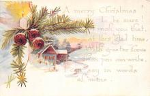 xms003003 - Christmas Day Postcard