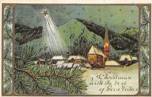 xms003005 - Christmas Day Postcard