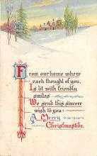xms003009 - Christmas Day Postcard
