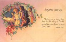 xms003019 - Christmas Day Postcard