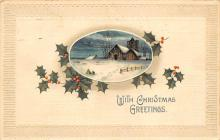 xms003063 - Christmas Post Card