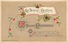 xms003167 - Christmas Post Card