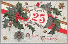 xms003193 - Christmas Post Card