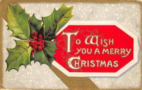 xms003269 - Christmas Post Card